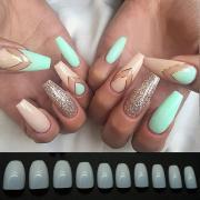 false nails ballet fake nail tips