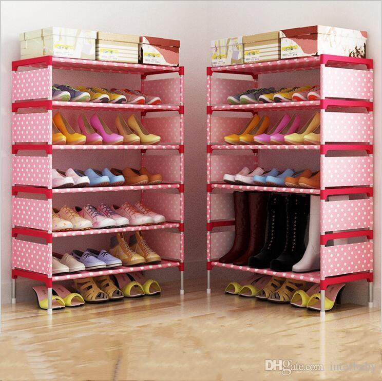 Shoe Rack In Closet