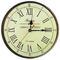 Wooden Kitchen Clock Counter Tile Wholesale Best Deal Large Wall New Horloge Murale Quality European Style Vintage Creative Wood Quartz Silent Retro 3d Clocks