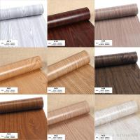 Wood Grain Wrap Contact Paper Film Sticker For Home Office ...