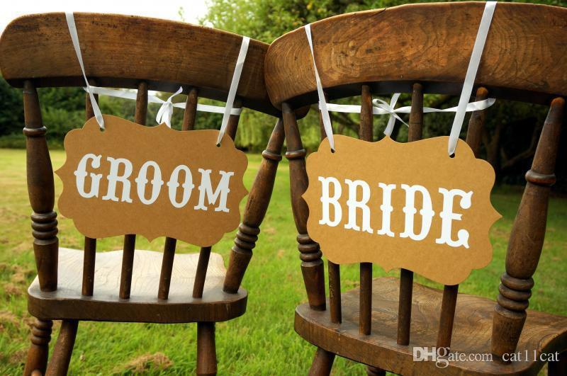 mr and mrs chair signs gym on 2019 photo props wedding decorations bride groom booth unique decor from cat11cat