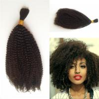 4b 4c Bulk Human Hair For Braiding Peruvian Afro Kinky