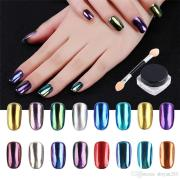nail glitter 1g piece magic mirror