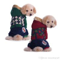 Online Cheap Plaid Pet Dog Clothes For Small Dogs Jackets ...