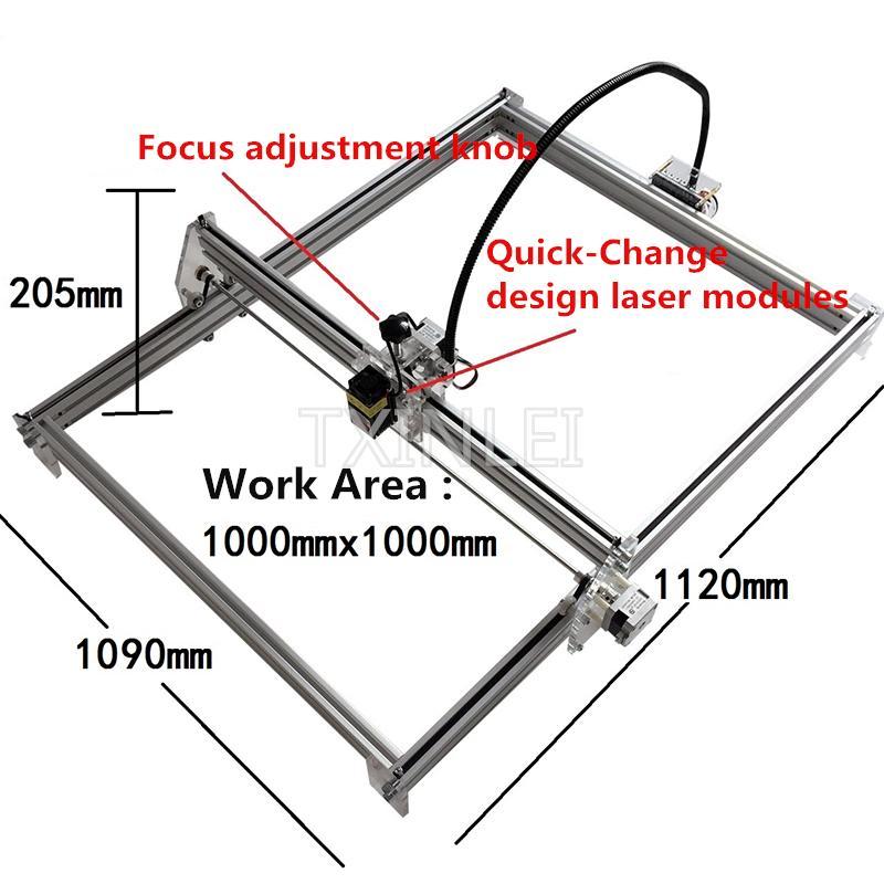 2019 2500mW 5500mW 7000mW Desktop DIY Laser Engraving