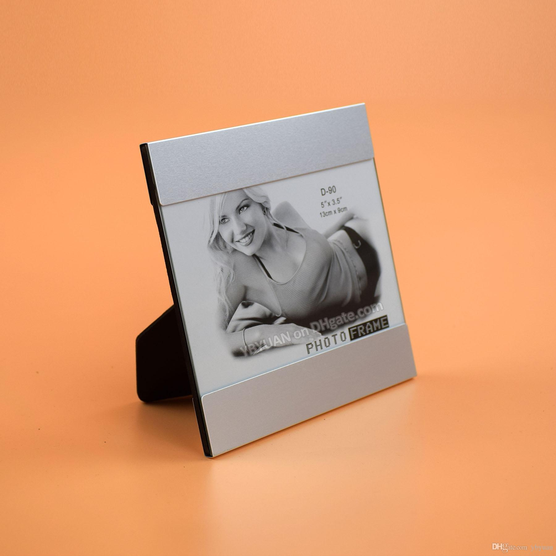 2019 5X35 Inch Tabletop Metal Photo Frame Glass Cover