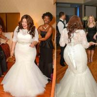 Plus Size Wedding Dresses Mermaid Style Lace | www ...