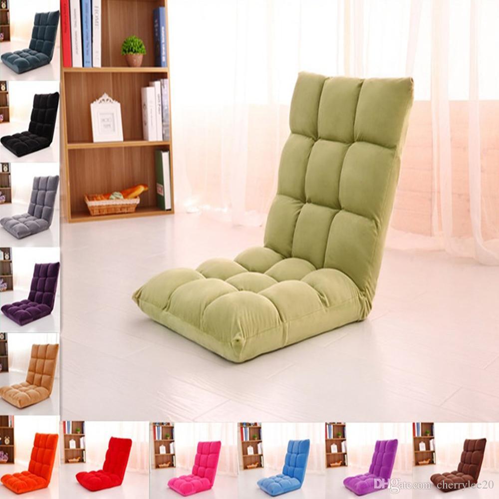2018 Lazy Sofa Floor Cushion Sofa Chair Folding Beach