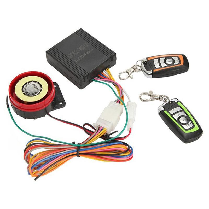 Security Alarm System Bike