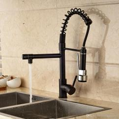 Oil Rubbed Bronze Kitchen Sink Cabinets In Stock 2019 Faucet Swivel Spout Single Lever Hole Deck Mount Mixer Tap From Rozinsanitary1 98 5 Dhgate Com
