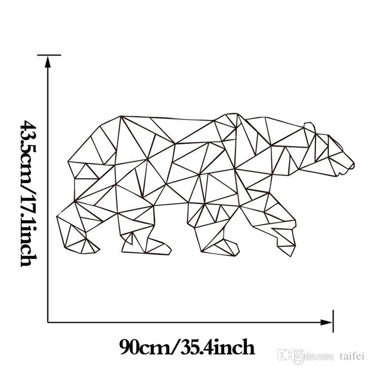 2018 Sale Estrella Polar Bear Wallpaper Linear Pattern