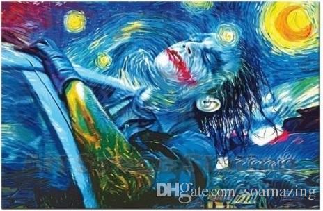 framed starry night joker