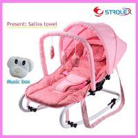 Portable Folding Newborn Baby Swing Chair Lounge Rocking ...
