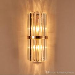 Wall Lamps For Living Room Latest Curtain Designs 2017 2019 K9 Crystal Sconce Bedroom Lamp With Switch Livingroom Dining Led Light Conference Hall Hotel Gold From