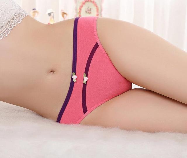 Compre Moq 12 Piezas Yun Meng Ni Sexy Underwear Sexy Hot Teen Girls Calzoncillos Respirable Algodon Mujer Bragas A 5 37 Del Yunjiefive Dhgate Com