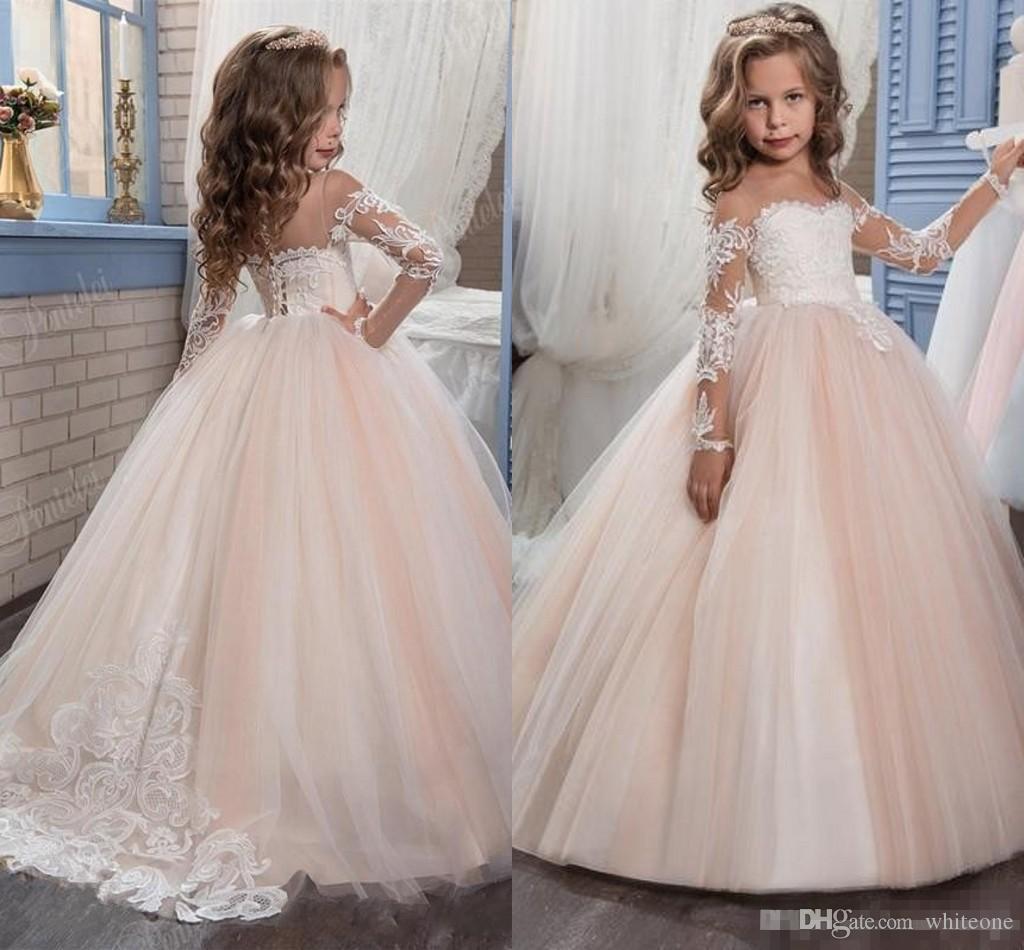 Kids Flower Girls Dresses For Weddings 2017 Pentelei With