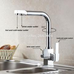 Kitchen Water Faucet Cabinet Granite Top 2019 Wholesale Drink Sink Mixer Tap Chrome Brass Taps Dual Handle Crane Spout Zr646 From Sophine08 146 24 Dhgate