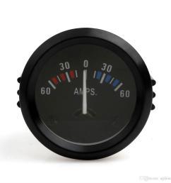 universal 2 inch 52mm car ammeter voltmeter jpg [ 1100 x 1100 Pixel ]