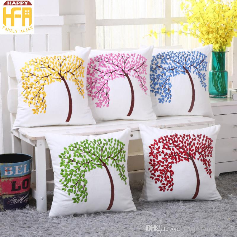 4545Cm Decorative Embroidery Blanks Pillow Covers Cushion