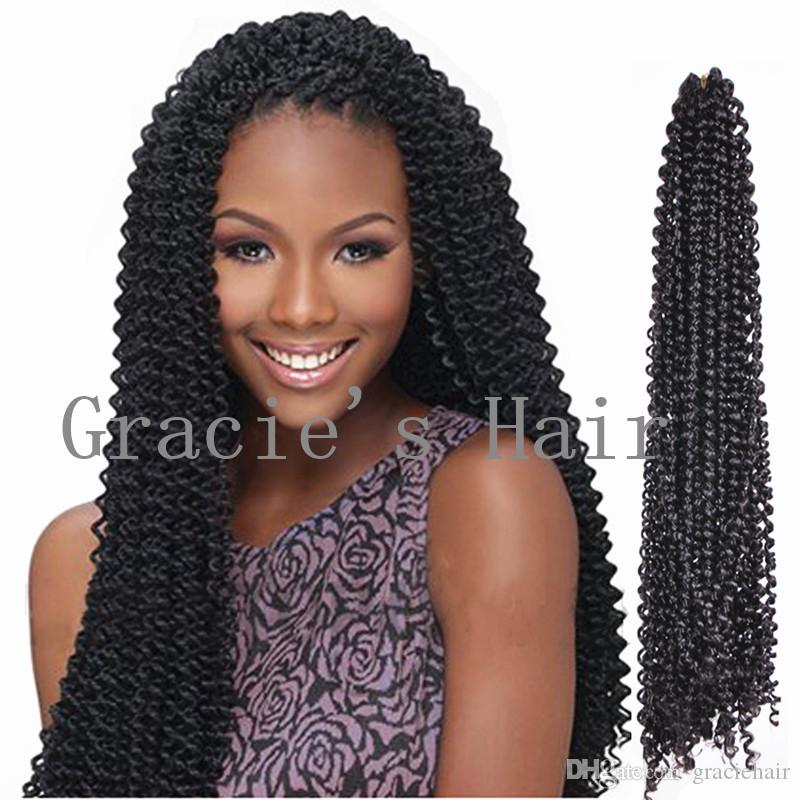 2018 Freetress Braids Kinky Curly Hair Extensios 18inch