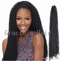 2018 Freetress Braids Kinky Curly Hair Extensios 18inch ...
