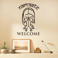 Welcome Namaste Wall Decals Vinyl Art Wall Stickers Home ...