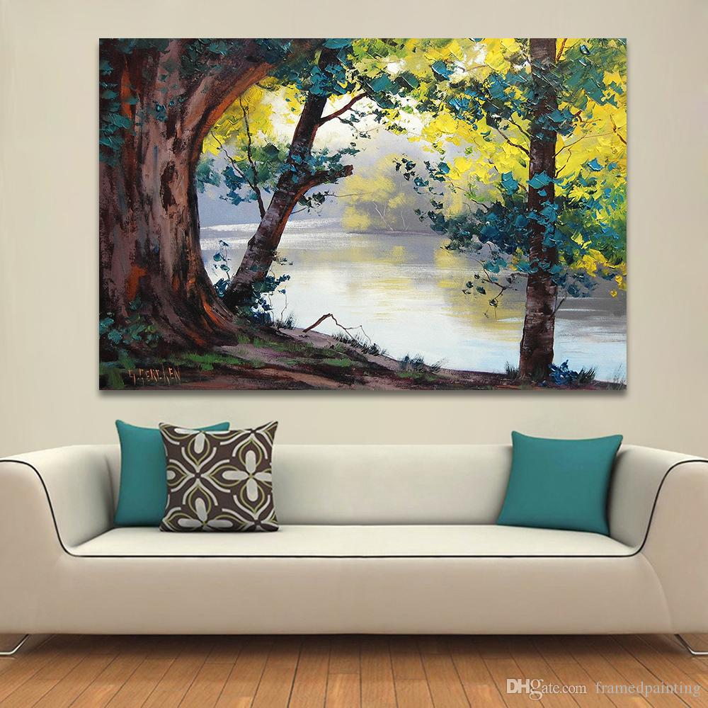 2019 Landscape Painting Home Decor Wall Pictures For Living Room Canvas Art Oil Painting Nature