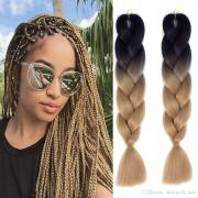 2019 ombre braiding hair extensions