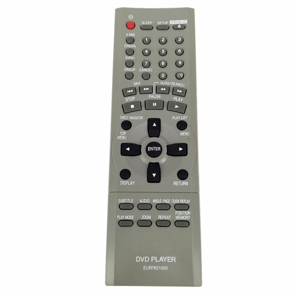 New Original Eur7621020 For Panasonic Dvd Player Remote Control S75ee Home Theater Sound System Remotes Controls From Joyousa