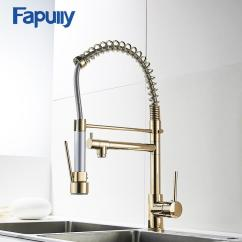 Kitchen Faucets With Sprayer Personalized Gifts Wholesale Gold Faucet Single Handle 360 Degree Rotating Cold Hot Water Mixer Sink Tap Online 291 72 Piece On Lvzhigarden002 S Store