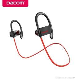 dacom g18 waterproof 4 handsfree earbuds running stereo sport earphone bluetooth headset wireless headphones for phone bluetooth retail pack wireless noise  [ 1000 x 1000 Pixel ]
