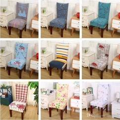 Dining Chair Covers For Home Swing In Room Hot Sale Floral Printing Cover Multifunctional Removable Elastic Slipcovers Seat T3i0119 Slip Couch