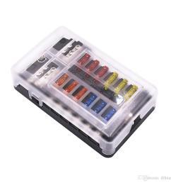 compre universal car blade fuse box automotor circuito fuse block holder dc 32v 1 12 manera con indicadores led a 24 63 del dihuanc dhgate com [ 1000 x 1000 Pixel ]