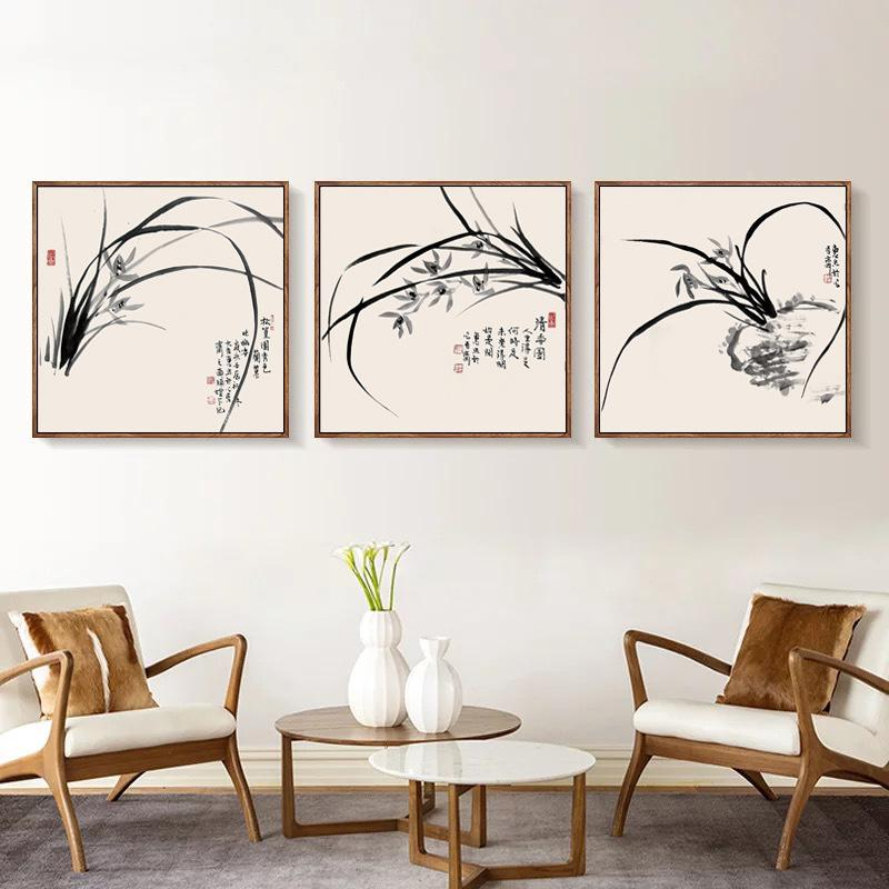 chinese living room white table 2019 new decoration painting restaurant wall hanging portraits meter box bedroom modern minimalist from bowstring 43 7 dhgate com