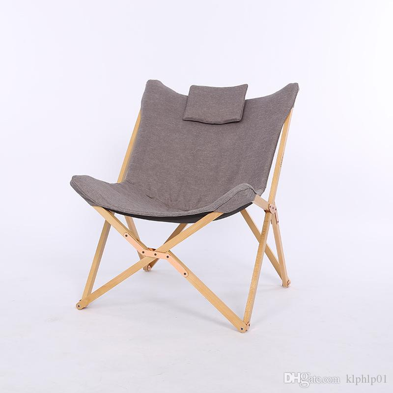 folding chair portable bean bag chairs cheap 2019 modern butterfly solid wood outdoor balcony beach leisure camping foldable from klphlp01 90 46 dhgate