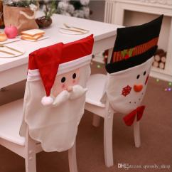 Chair Cover Christmas Decorations Gaming Chairs Covers Santa Clause Design Snowman Home Restaurant Hotel Party Decor 2 Styles 60 45cm Couch For Reclining Sofas Wedding