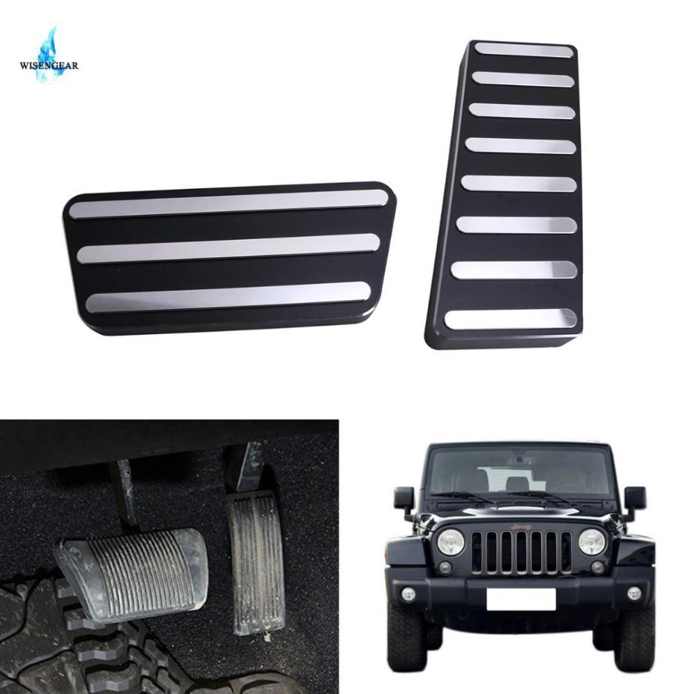 medium resolution of 2019 cnc aluminum alloy accelerator gas brake pedal kit for jeep wrangler jk rubicon sahara sport 2007 2016 left hand drive from louyu 63 77 dhgate