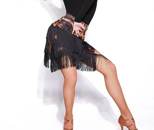 Hot Sale Sexy Adult Lady Dance Dance Skirt Womens Three Layers Tassel Latin Skirt Fringed Contains From Junxcj   Dhgate Com