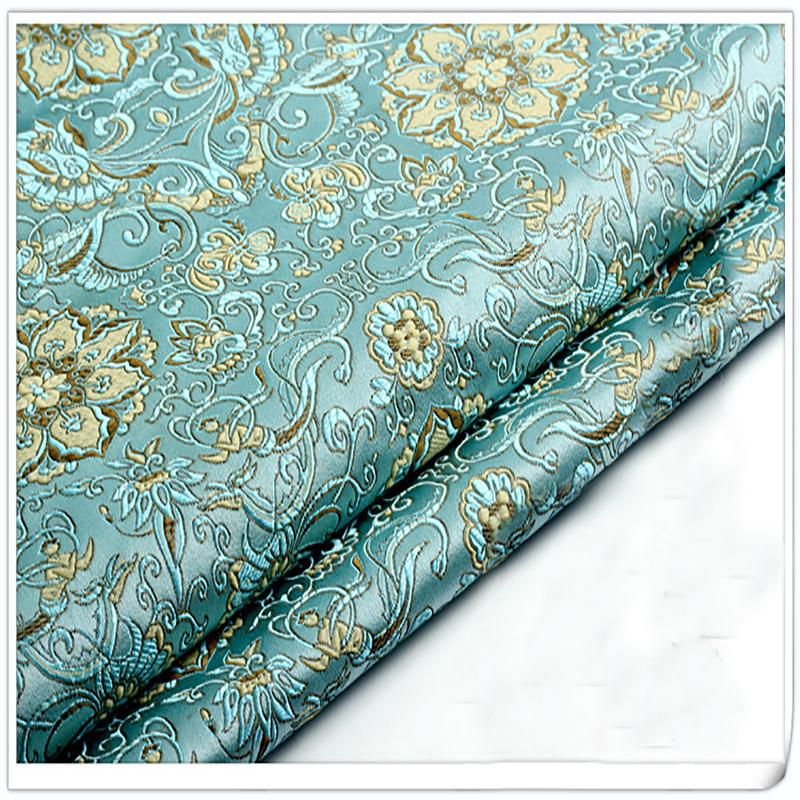 brocade sofa fabric green tufted 2019 damask jacquard america style apparel costume upholstery furnishing curtain diy clothing material by meter from tanguimei2