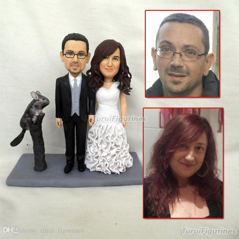 polymer clay doll personalized