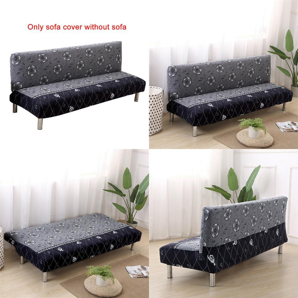 sofa bed covers oak queen anne table universal size armless cover folding seat slipcovers stretch cheap couch protector elastic bench futon 5839 gold bedspread matelasse