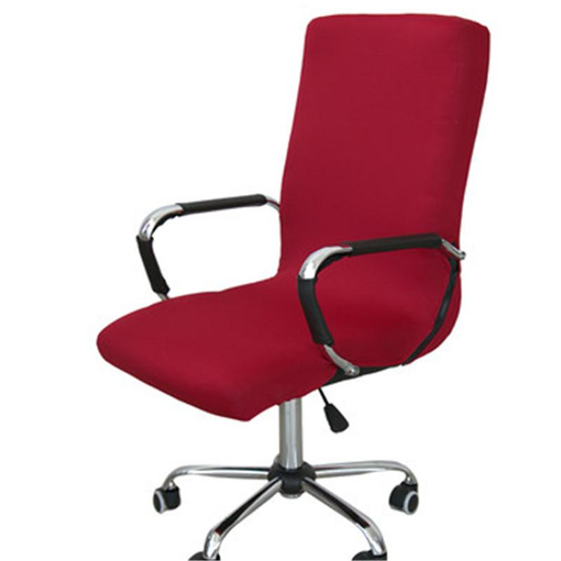 swivel chair covers extreme gaming spandex office cover elastic computer dining washable removable rotating chairs room table