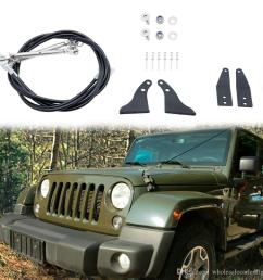 limb risers kit for jeep wrangler tj 1997 2006 obstacle eliminate rope through the jungle protector car exterior replacement auto parts seat covers from  [ 1000 x 1000 Pixel ]