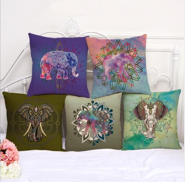 6 design elephant print