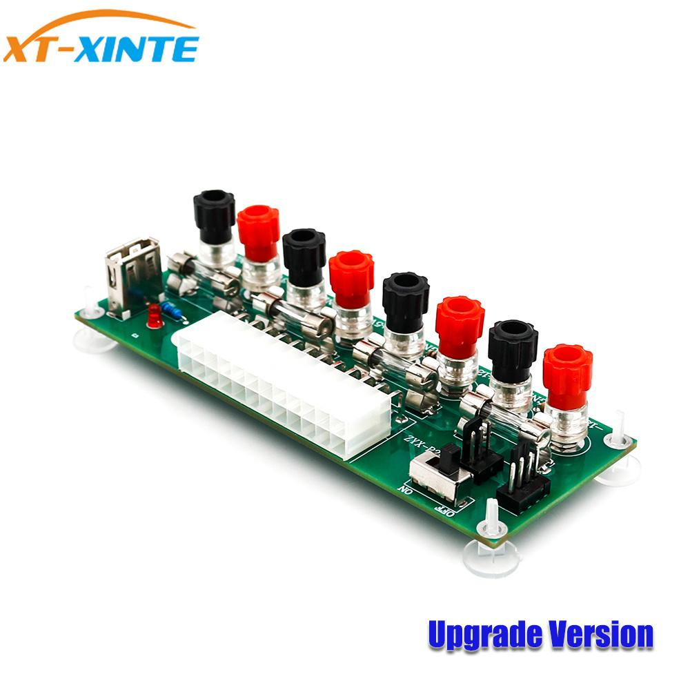 hight resolution of electric circuit 20 24 pins atx benchtop power board computer power supply breakout adapter with usb 5v port computer cables and connectors pdf computer