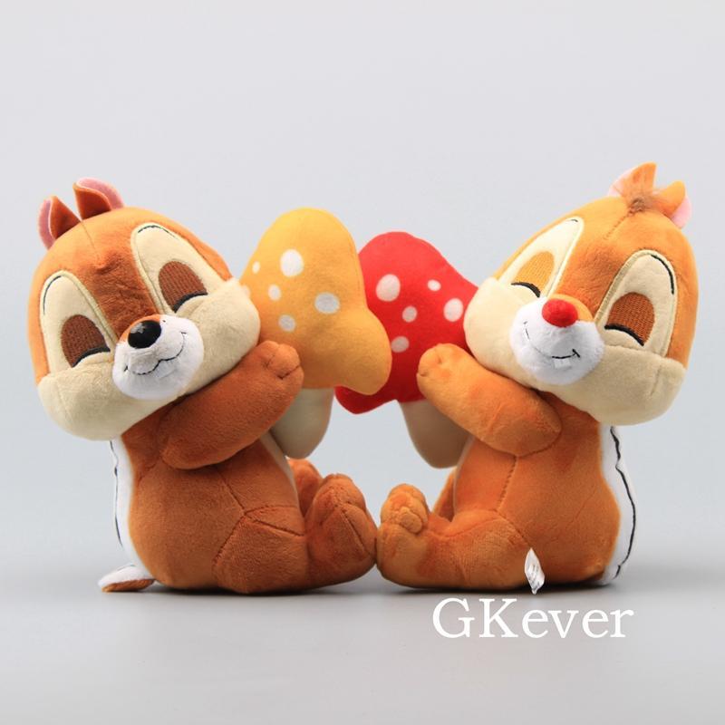 2 styles cute chipmunks