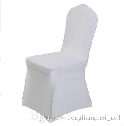 universal banquet chair covers giant deck new white polyester spandex wedding for weddings folding hotel decoration decor hot sale wholesale z313 card table