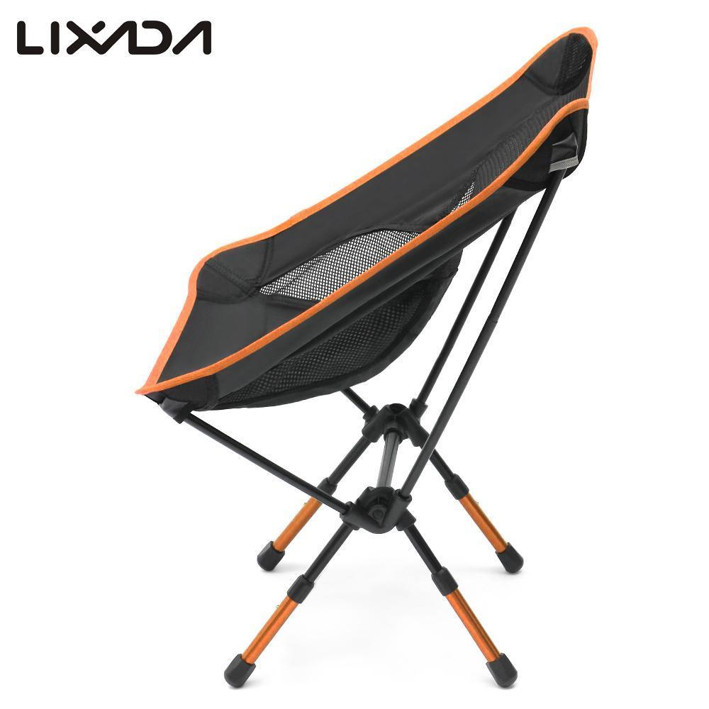 compact camping chair rocking resort mountain home arkansas 2019 2018 lixada ultralight folding fishing with adjustable height seat for outdoor leisure picnic beach from feyenoord