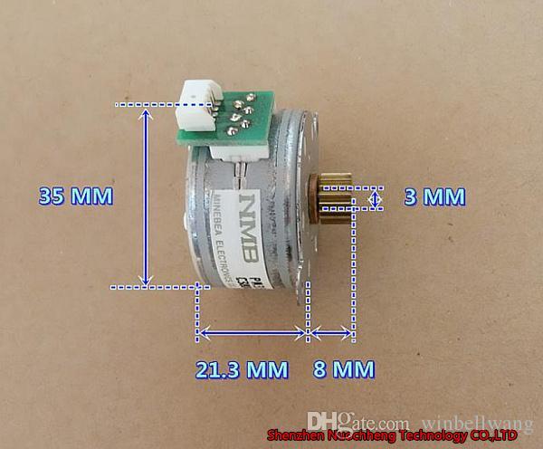 Stepper Motor Wiring 4 4 Wire Nmb Stepper Motor