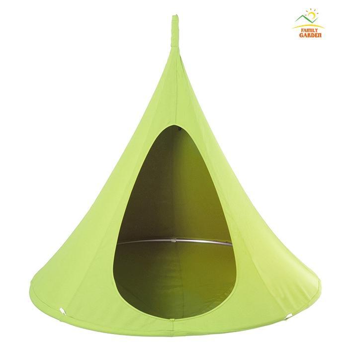 hanging kids chair gaming reviews xbox one baby swing children hammock tent indoor outdoor chairs seat vivere bonsai double single cacoon sleeping bags kelty